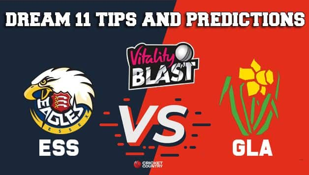 Dream11 Team Essex vs Glamorgan Match T20 BLAST 2019 – Cricket Prediction Tips For Today's T20 Match ESS vs GLA at Cardiff