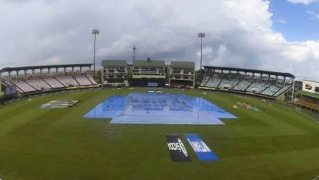 Covers on Providence Stadium  Guyana