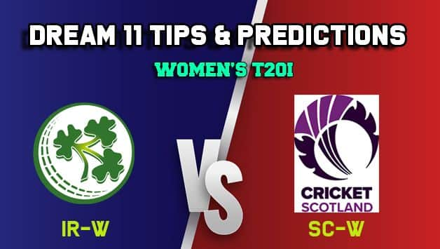 IR-W vs SC-W Dream11 Team Ireland Women vs Scotland Women, 11th Match, Women's Quadrangular series T20I – Cricket Prediction Tips For Today's Match IR-W vs SC-W at Deventer