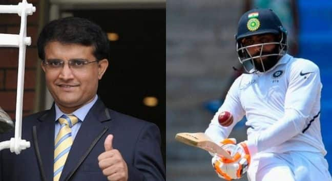 Sourav Ganguly predicts India will whitewash West Indies, hails comeback man Ravindra Jadeja