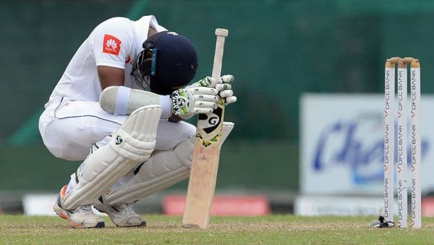 Freedom doesn't mean swinging at every ball: Karunaratne