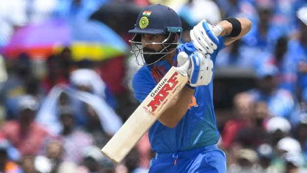 Virat Kohli surpasses Sourav Ganguly, becomes eighth-highest run-scorer in ODIs