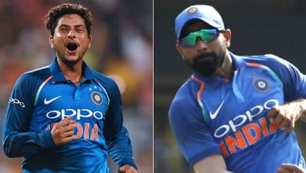 india vs west indies: Kuldeep Yadav close to break Mohammed Shami's record of fastest to 100 wickets by Indian bowler
