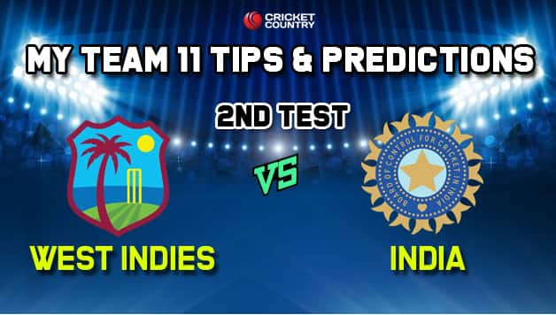 MyTeam11 Team India vs West Indies 2nd Test – Cricket Prediction Tips For Today's TEST Match IND vs WI at Sabina Park, Jamaica