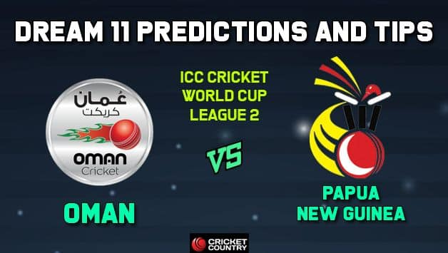 OMN vs PNG Dream11 Team Oman vs Papua New Guinea, Match 6, ICC Men's Cricket World Cup League 2 – Cricket Prediction Tips For Today's Match OMN vs PNG at Aberdeen