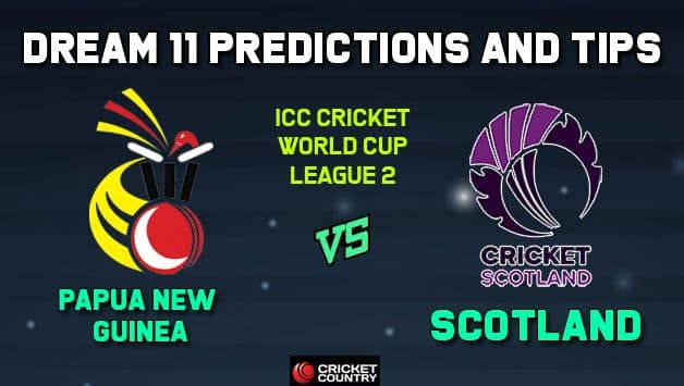 PNG vs SCO Dream11 Team Papua New Guinea vs Scotland, Match 5, ICC Men's Cricket World Cup League 2 – Cricket Prediction Tips For Today's Match PNG vs SCO at Aberdeen