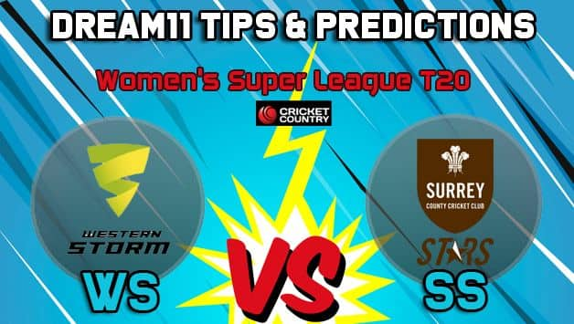 WS vs SS Dream11 Team Western Storm vs Surrey Stars, Women's Super League T20– Cricket Prediction Tips For Today's match at Taunton