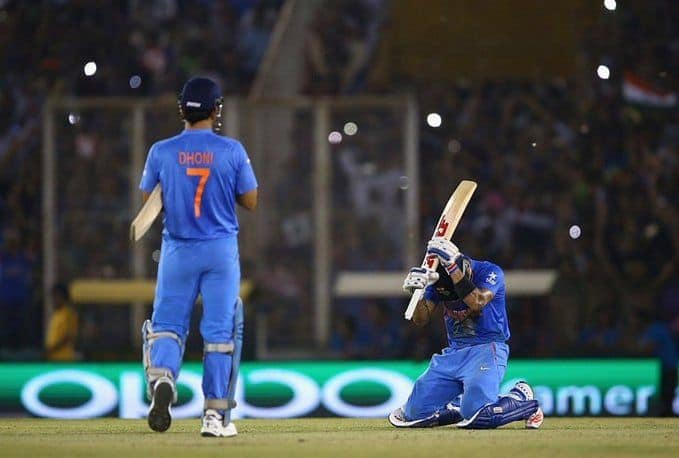 Virat Kohli social media post sparks rumors of MS Dhoni retirement