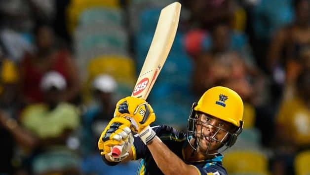 Duminy blasts fastest CPL fifty in Tridents win