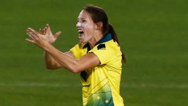 Megan Schutt becomes the first Australia women cricketer to take an ODI hat-trick