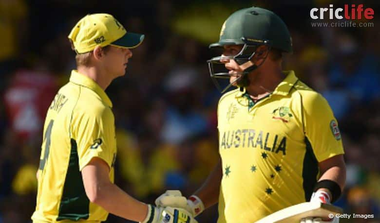 Aaron Finch feels Steve Smith is more comfortable after losing captaincy