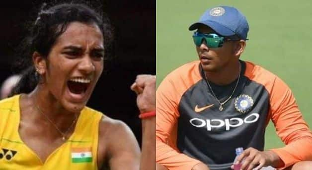 Prithvi Shaw to work with PV Sindhu to improve footwork and work ethics – report