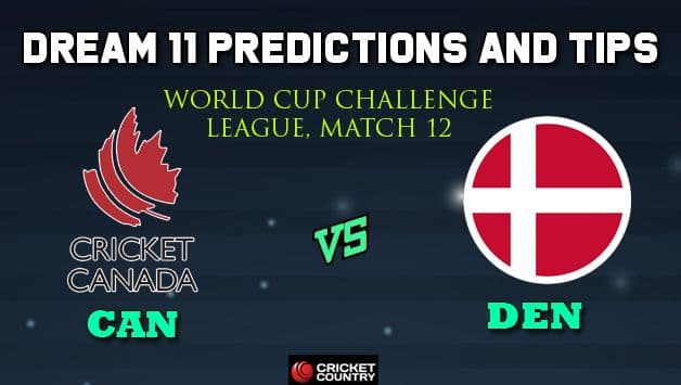 CAN vs DEN Dream11 Team Canada vs Denmark, Match 12, World Cup Challenge League – Cricket Prediction Tips For Today's Match CAN vs DEN at Kuala Lumpur