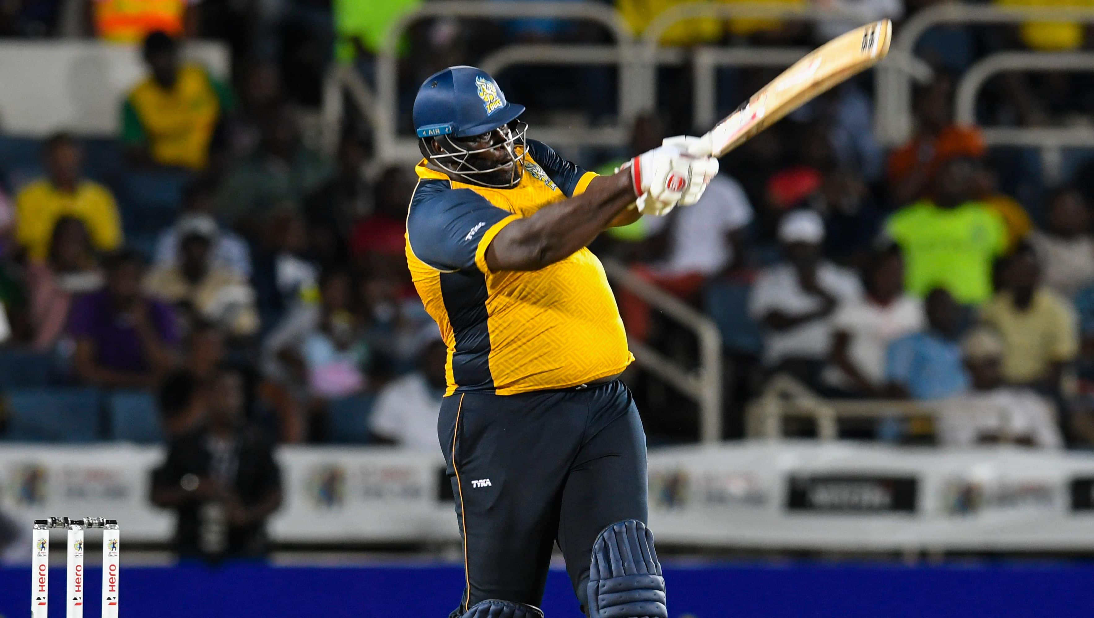 CPL 2019: St Lucia Zouks secure first win after Andre Russell injury scare