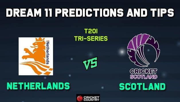 NED vs SCO Dream11 Team Netherlands vs Scotland, Match 5, T20I Tri-series – Cricket Prediction Tips For Today's Match NED vs SCO at Kuala Lumpur