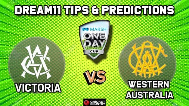 Dream11 Team Victoria vs Western Australia, Match 1 Marsh One-Day Cup 2019 Australian ODD – Cricket Prediction Tips For Today's Match VCT vs WAU at Perth