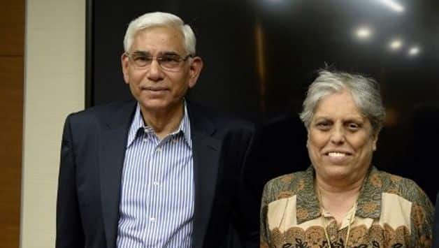 CoA chief Vinod Rai wants elections deferred but Diana Edulji differs