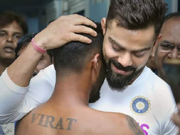 India Vs South Africa 2019 1st Test Virat Kohli Embraces