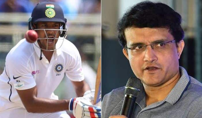 I will judge Mayank Agarwal's performance after a year or later, says Sourav Ganguly
