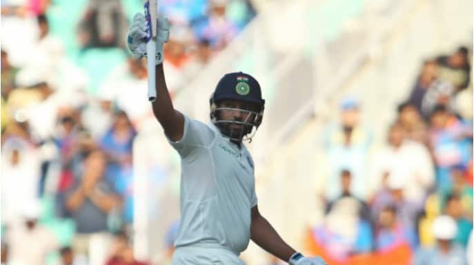 Rohit Sharma becomes only player to score twin hundreds as a first-time opener in Tests