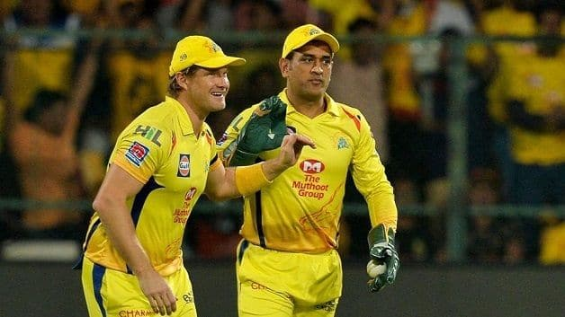 He's playing incredibly well: Watson on Dhoni retirement