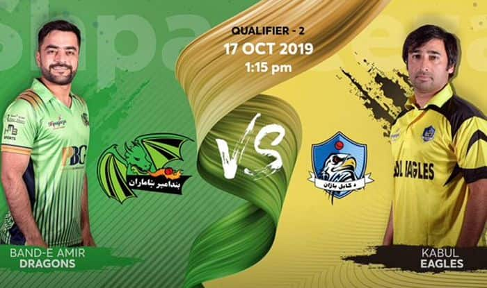 Live cricket score BD vs KE Band-e-Amir-Dragons vs Kabul Eagles Afghanistan T20 League, Qualifier 2