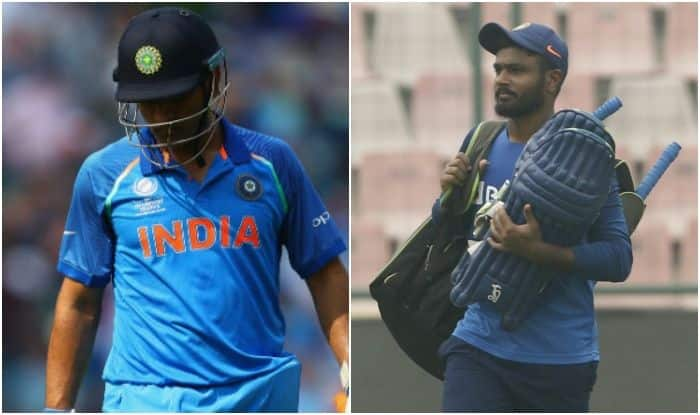 Ind vs wi bcci faces fans outrage after sanju samson's snub: twitterati misses ms dhoni