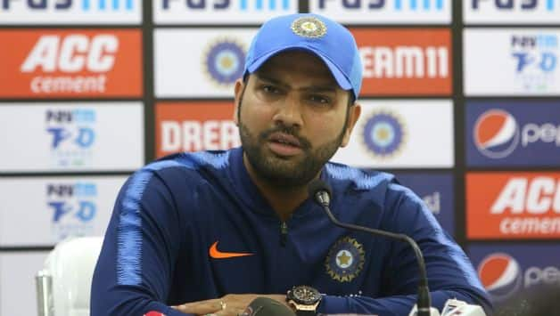 Rohit Sharma: Fast bowling combination will depend on pitch, our batting is good