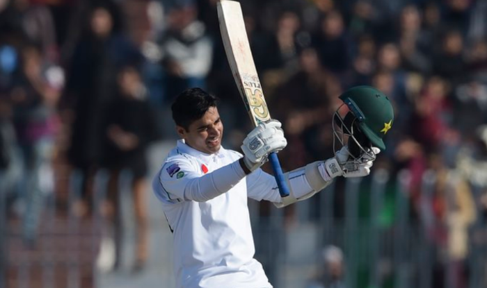 Pakistan's Abid Ali scored consecutive centuries in his first two Tests