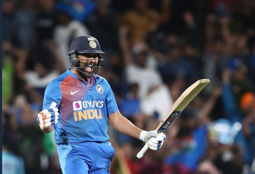 Twitter hails Rohit Sharma as he wins the game for India in a super over against NZ