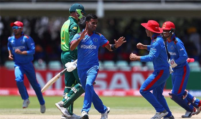 ICC U19 World Cup 2020: Afghanistan Stun Former Champions South Africa by Seven Wickets in Opener