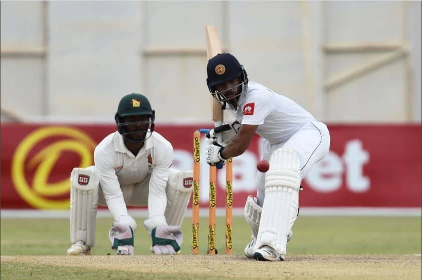 ZIM vs SL : मेंडिस के नाबाद शतक से श्रीलंका ने जिम्बाब्वे को हरा जीती टेस्ट सीरीज