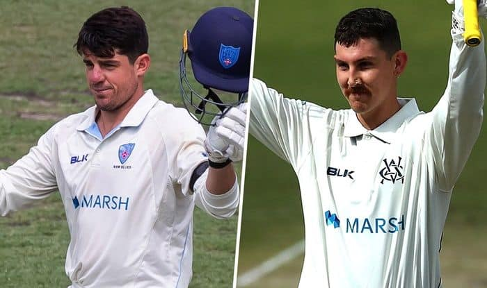 Moises Henriques, Nic Maddinson named CA's Sheffield Shield Players of the Year