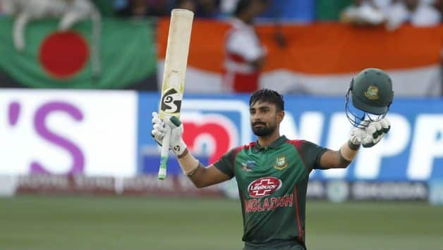 Liton Das becomes highest run scorer for Bangladest in ODI