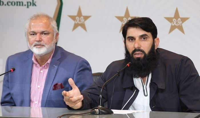 Misbah Proposes Mask For Bowlers to Ensure They Don't Use Saliva 'Instinctively'