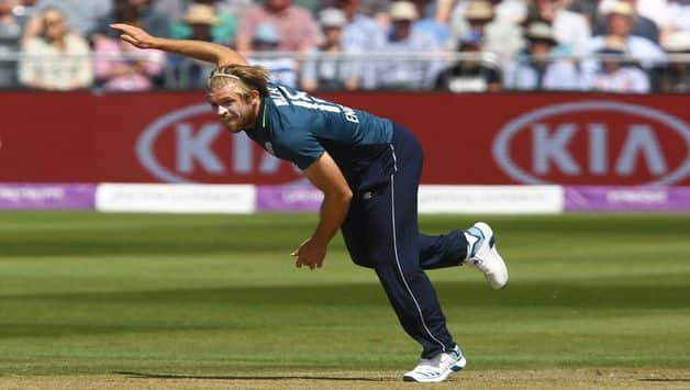 England vs Ireland: David Willey And Reece Topley Recalled For ODI Series