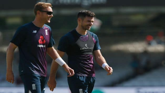 James Anderson Backs Stuart Broad To Break England Record As He Completes 500 Test Scalps
