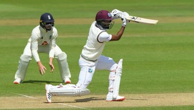 ENG vs WI 1st Test: Kraigg Brathwaite Fifty Takes West Indies to 159/3 at Lunch