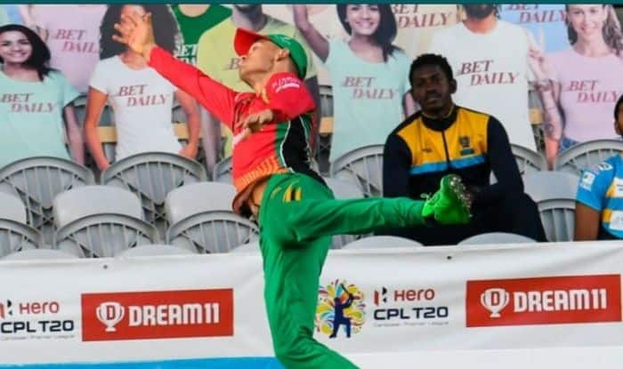 CPL 2020 : Guyana Amazon Warriors secured their semi-final berth outplaying Barbados Tridents