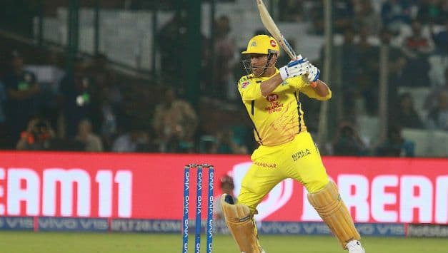 MS Dhoni is now the 1st Indian to bat 100 successive T20 innings without bagging a duck