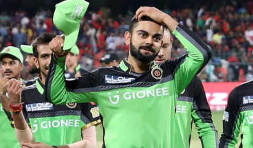 चेन्नई के हाथों मिली RCB को हार