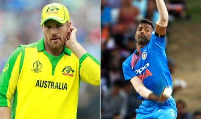 India vs Australia: Hardik Pandya bowling helps us know how we need to bowl today, says aaron finch
