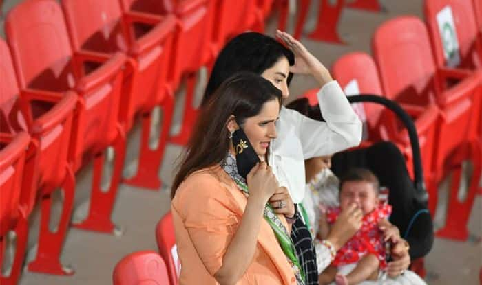 Sania was present at the National Stadiu...