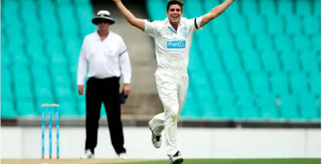 Uncapped paceman Sean Abbott fought back tears after shock Test selection