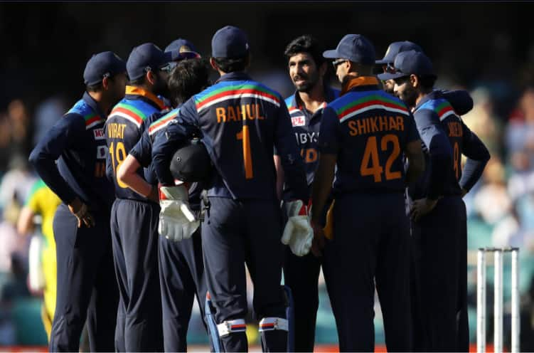 INDIA FINED FOR SLOW OVER RATE IN THE FIRST ODI AGAINST AUSTRALIA