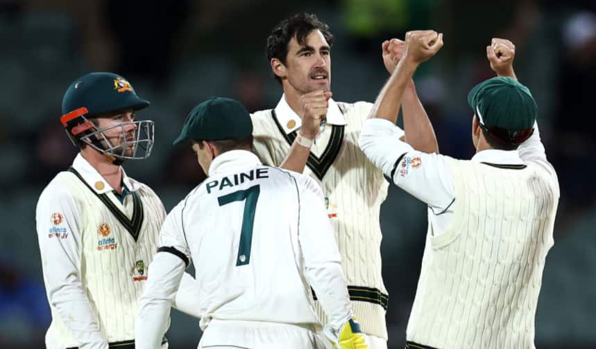 India vs Australia, Day-2: Mitchell Starc 4 wicket haul, Pat cummins 3 wicket bowled out India at 244