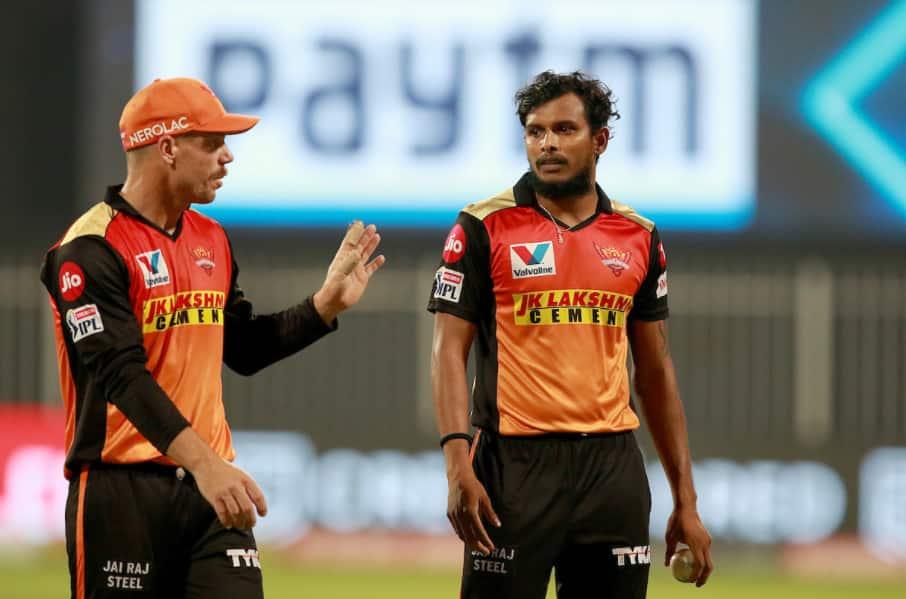 Nattu, you are a legend. I love having you in my team: David Warner on T Natrajan
