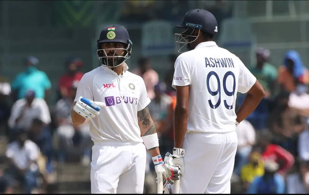 India vs England, 2nd Test: Virat Kohli, Ravichandran Ashwin survive as India lead by 351 runs