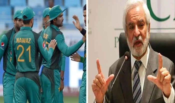 ehsan mani open for an extession and pcb to send his team to africa by chartered flight