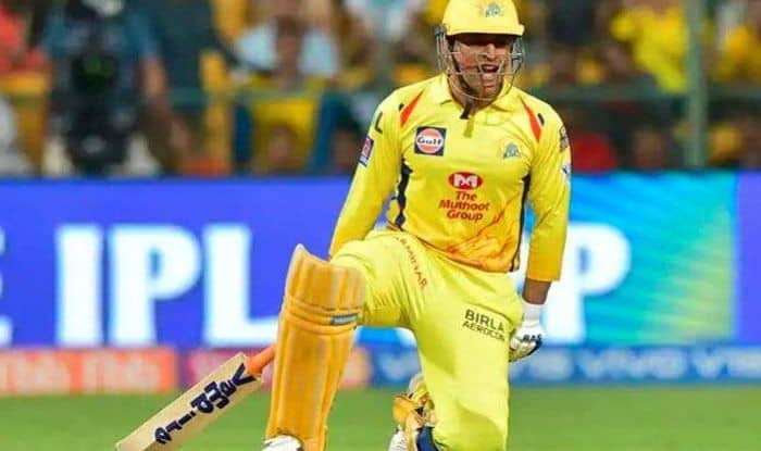 Ms dhoni looks well prepared for ipl 2021 he is smashing big sixes out of stadium watch video 4486629